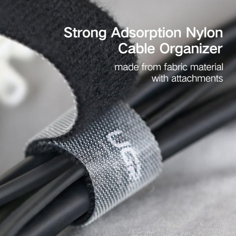 Нейлоновая липучка для сматывания шнуров, Ugreen