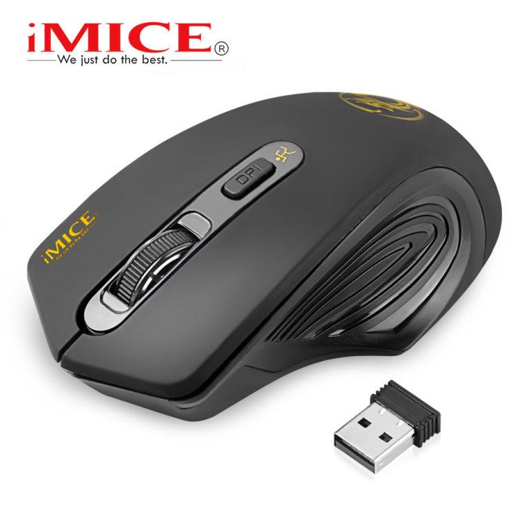 Мышь беспроводная iMICE LM501800BK USB 3.0,  2.4 ГГц