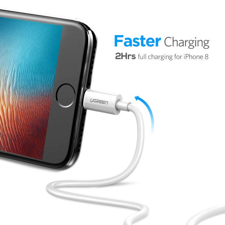 Кабель для IPhone USB – Lighting, Ugreen