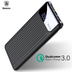 Внешний аккумулятор Baseus 10000 мАч, QC 3,0