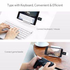 OTG адаптер USB – Type-C для Samsung Galaxy, Huawei, Ugreen