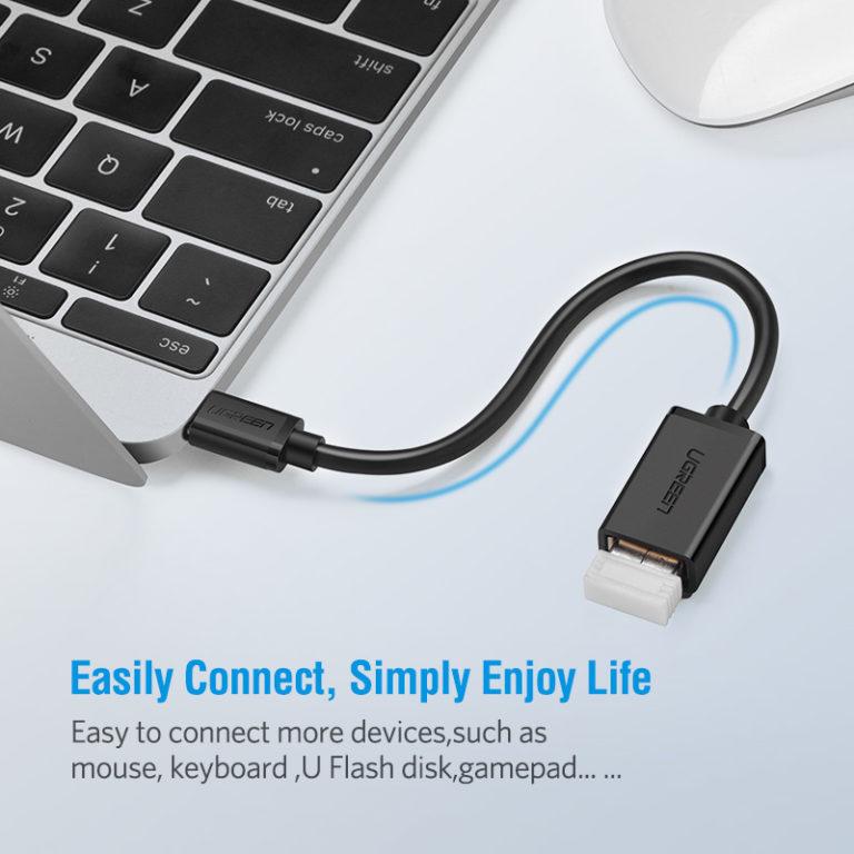 OTG кабель-адаптер USB – Type-C , Ugreen