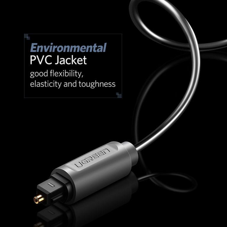 Цифровой оптический аудио-кабель, Ugreen