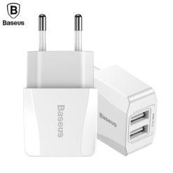 Универсальное зарядное устройство Dual USB, Baseus