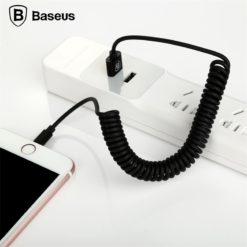 Пружинный кабель Lighting для зарядки и синхронизации данных, Baseus