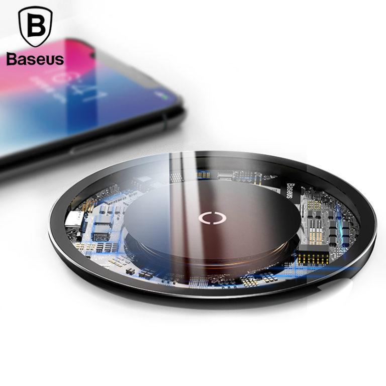 Беспроводное зарядное устройство 10 Вт (быстрая зарядка), Baseus