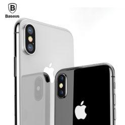 Ультра-тонкий силиконовый чехол для iPhone, Baseus