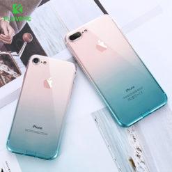 Ультра-тонкий чехол для iPhone 5/5S/SE/6/6S/7/8 plus, FLOVEME