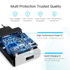 Зарядное устройство с быстрой зарядкой Qualcomm 3.0, Ugreen
