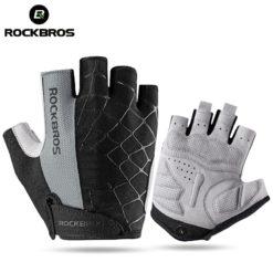 Велосипедные перчатки без пальцев Spider, ROCKBROS