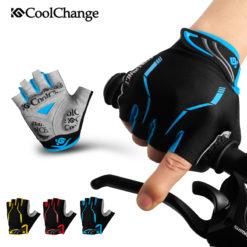 Велосипедные перчатки без пальцев, CoolChange