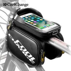 Водонепроницаемая велосипедная сумка на раму, Coolchange