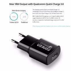 Зарядное устройство Quick Charge 3.0, FONKEN