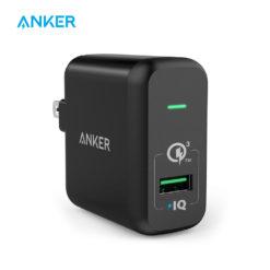 Зарядное устройство 18 Вт Quick charge 3.0, Anker